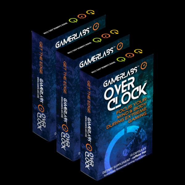 GamerLabs Overclock 3 Pack