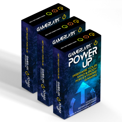 GamerLabs PowerUp 3 Pack