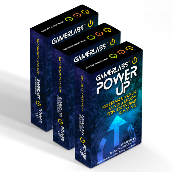 GamerLabs PowerUp 3 Pack